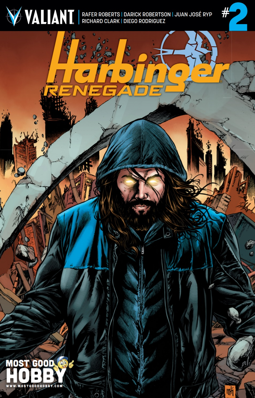 Harbinger Renegade #2 Most Good Exclusive Mike Krome Variant