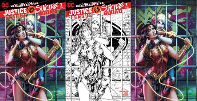 Justice League Suicide Squad #1 (Of 6) MGH Exclusive Dawn McTeigue Variant Set