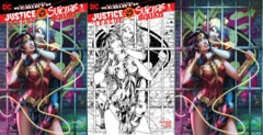 Justice League vs Suicide Squad #1 (Of 6) Most Good Exclusive Dawn McTeigue Variant Set