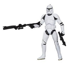 Star Wars Black Clone Trooper 6 Inch Action Figure
