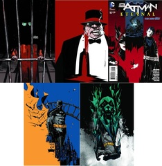 Batman Eternal Lot 13 14 15 16 17 (Month 4 Set)