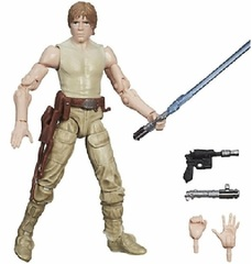 Star Wars Black #21 Luke Skywalker (Jedi Training) 3 3/4 Inch Action Figure