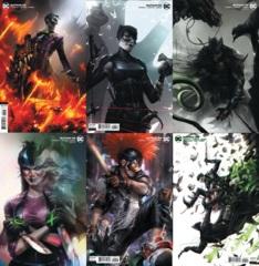 Batman Vol 3 #95 #96 #97 #98 #99 #100 Cover B Lot Joker War 6 Issue Set