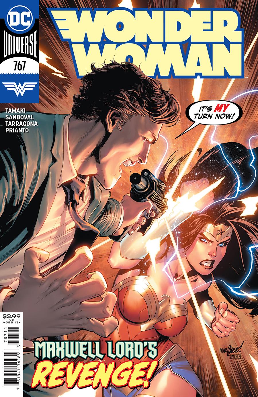 Wonder Woman Vol 1 #767 Cover A David Marquez