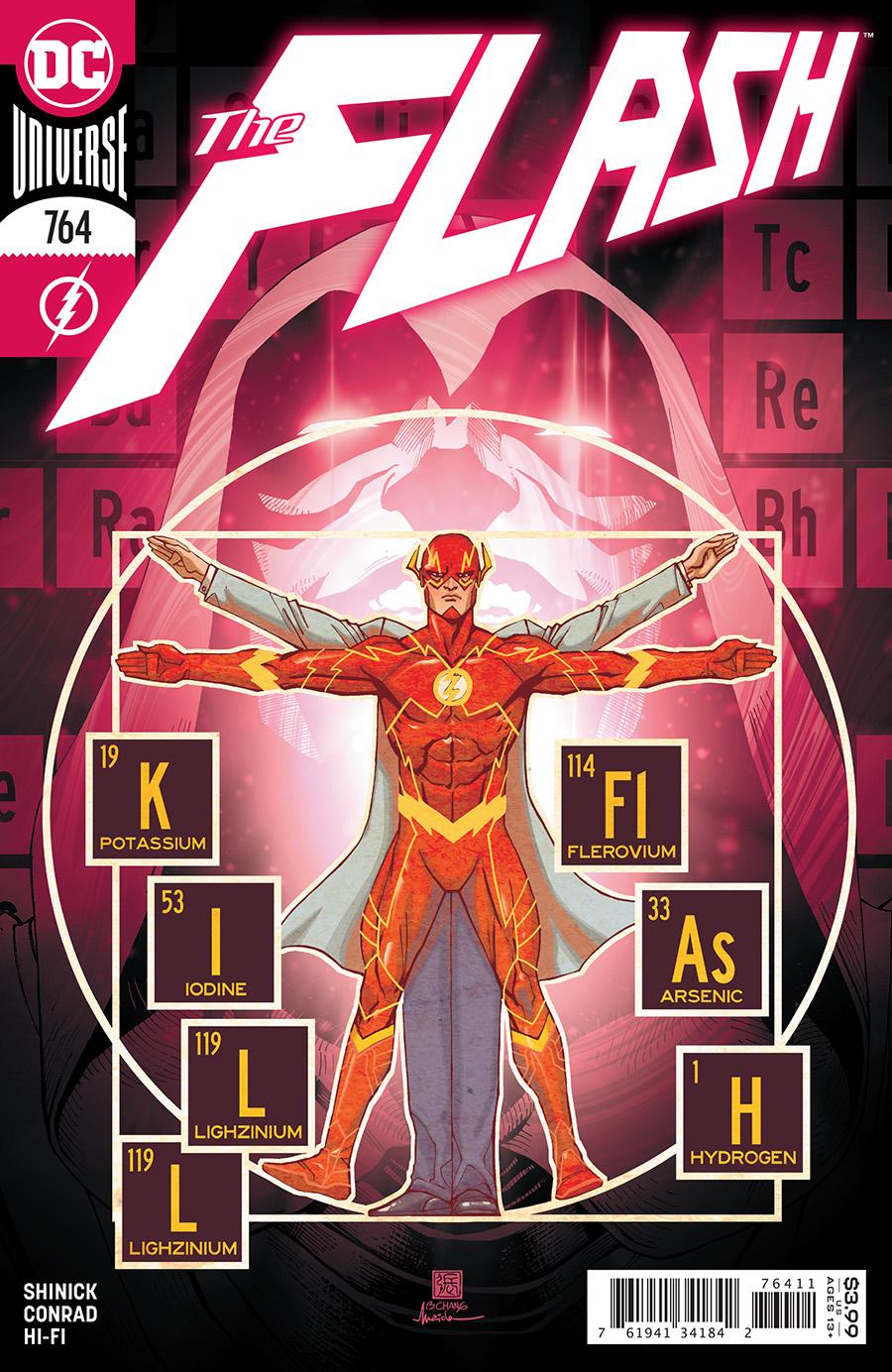 Flash Vol 1 #764 Cover A Bernard Chang