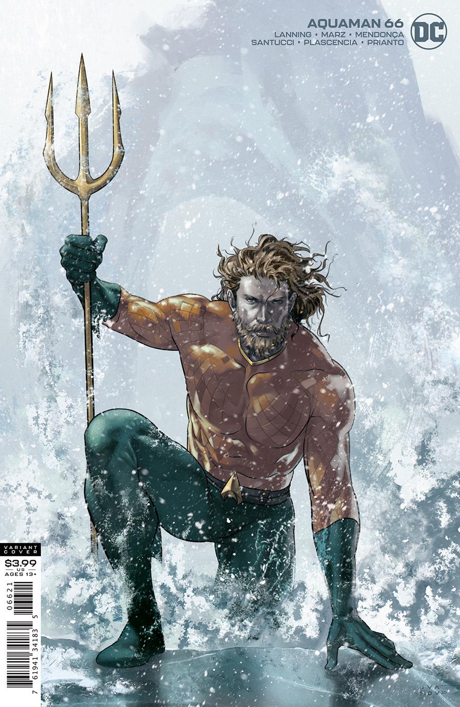 Aquaman Vol 8 #66 Cover B Dima Ivanov Variant (Endless Winter)