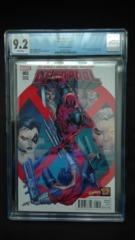 Deadpool #3 1:20 Liefeld Variant CGC 9.2