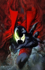 Spawn #301 Cover N Bill Sienkiewicz Virgin Variant