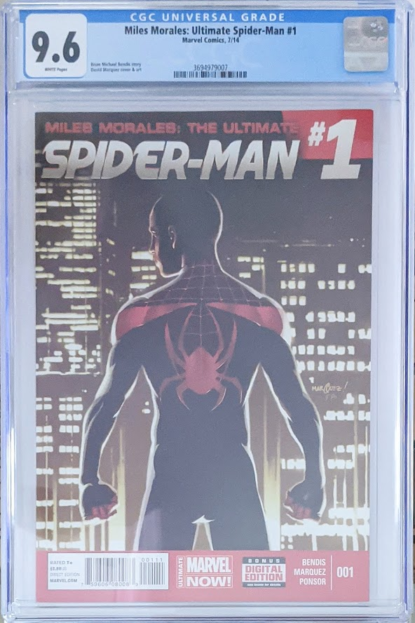 Miles Morales Ultimate Spider-Man #1 CGC 9.6