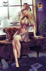 GFT Robyn Hood Ongoing #19 D Cover 2016 LSCC Exclusive Chatzoudis