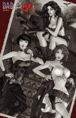 B.A.R. Maid #5 Cover D - Retailer Exclusive - Franchesco