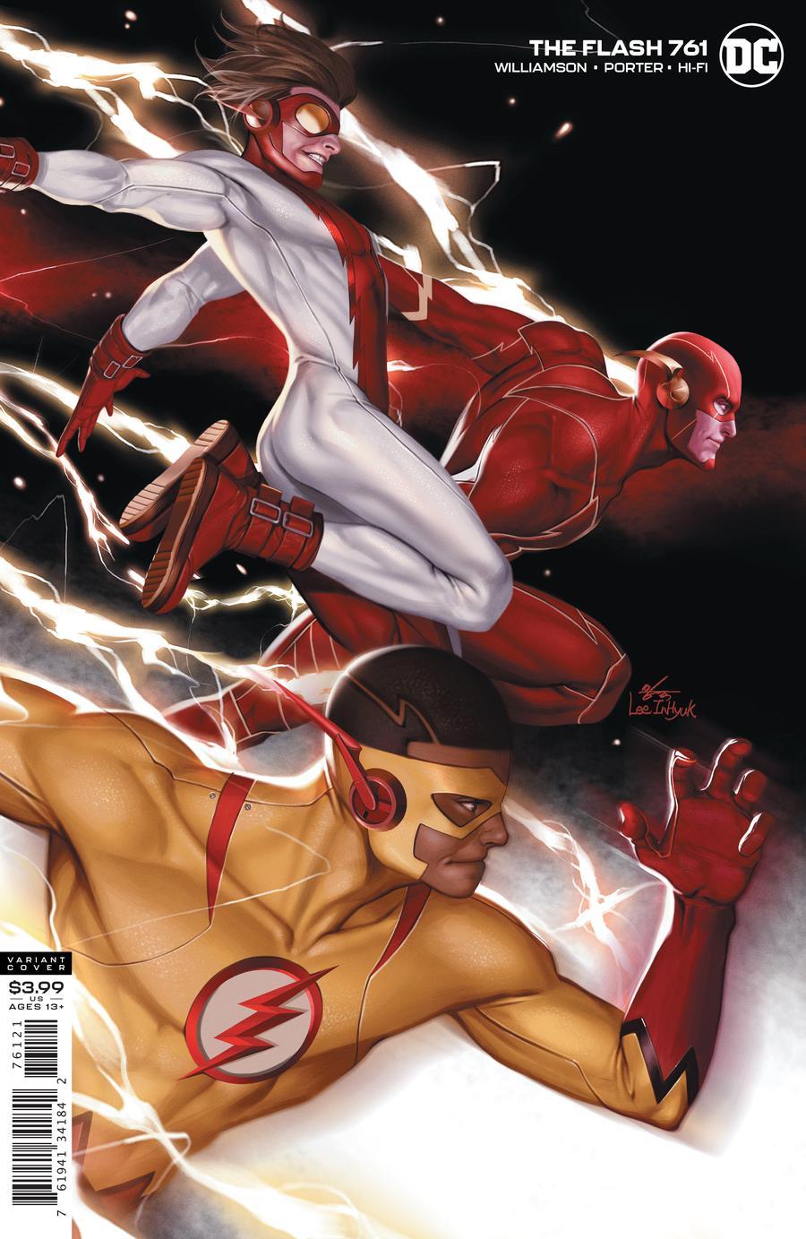 Flash Vol 1 #761 Cover B Inhyuk Lee Variant
