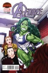 A-Force #4 Toshirou Manga Variant