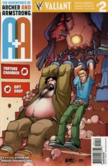 A&A: Archer & Armstrong #2 2nd Printing