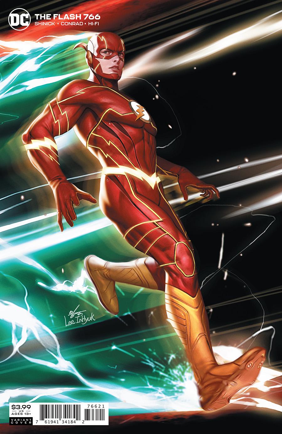 Flash Vol 1 #766 Cover B Inhyuk Lee Variant