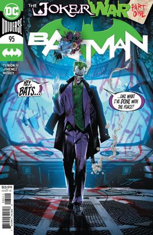 Batman Vol 3 #95 Cover A Jorge Jimenez