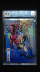 A-Force #1 1:20 Campbell Variant CGC 9.6