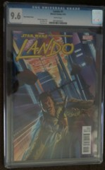 Lando #1 1:50 Ross Variant CGC 9.6
