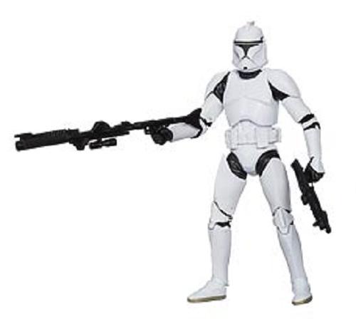 Star Wars Black Clone Trooper 6 Inch Action Figure