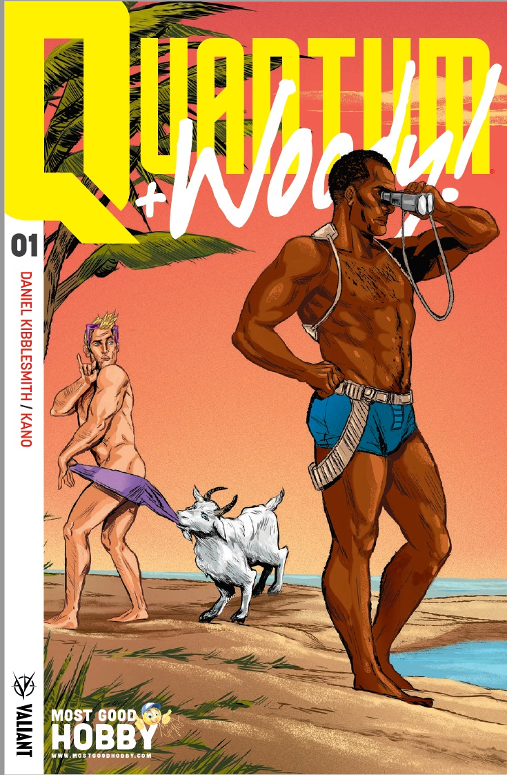 Quantum & Woody (2017) #1 Most Good Exclusive Ming Doyle Variant