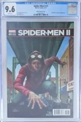 Spider-Men II #1 1:10 Kadir Nelson Variant 1st Evil Miles Morales CGC 9.6