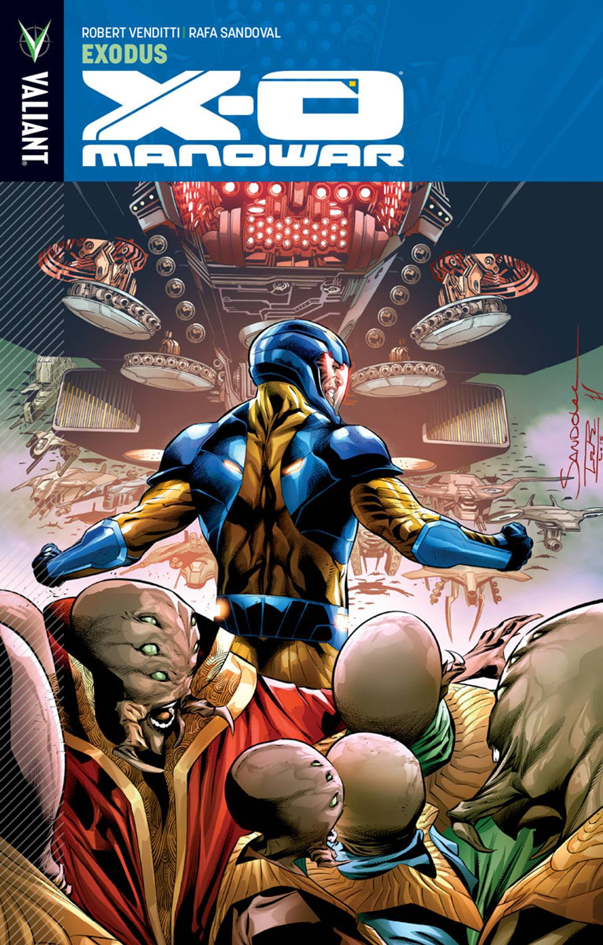 X-O Manowar Vol 10 Exodus TPB