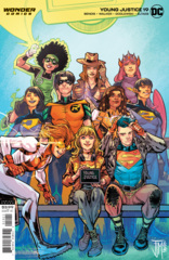 Young Justice Vol 3 #19 Cover B Francis Manapul Variant