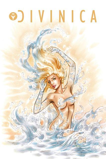 DiVinica #1 MGH Exclusive Dawn McTeigue Aphrodite Variant LTD To 25