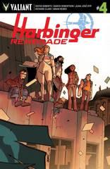 Harbinger Renegade #4 Cover D 1:10 Variant Lafuente