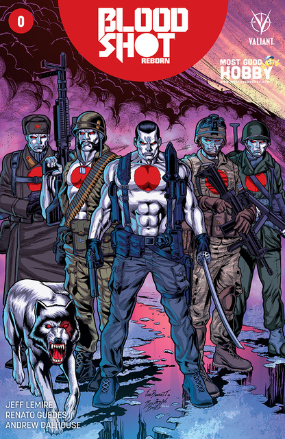 Bloodshot Reborn #0 MGH Exclusive Joe Bennett Variant