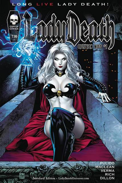 Lady Death Oblivion Kiss #1 Standard Cover
