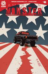 American Monster #6 1:10 Variant Francavilla Incv Cover