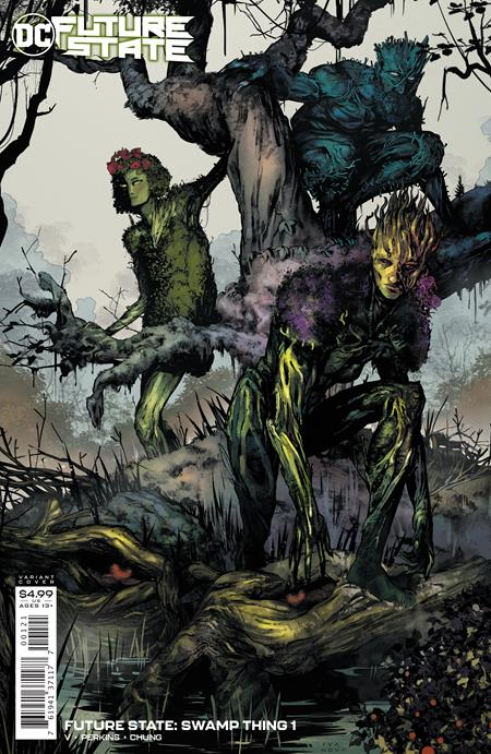 Future State Swamp Thing #1 (Of 2) Cover B Dima Ivanov Variant
