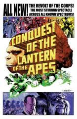 Planet Of Apes Green Lantern #4 1:10 Variant Mayhew Movie Variant