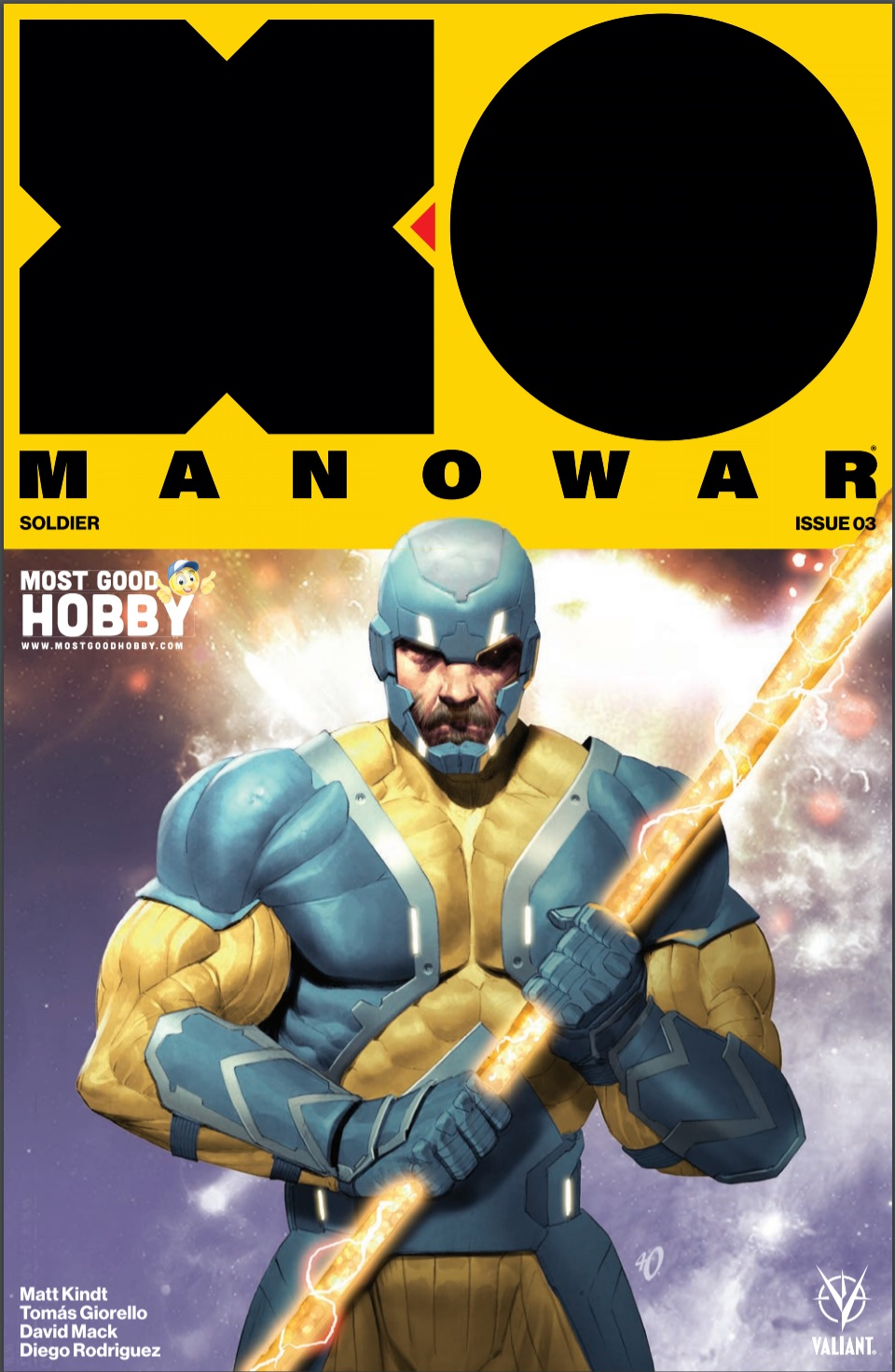 X-O Manowar (2017) #3 Most Good Exclusive Ariel Olivetti Variant