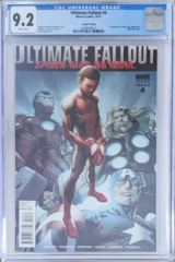 Ultimate Fallout #4 2nd Printing 1st Miles Morales CGC 9.2