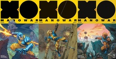 X-O Manowar (2017) Lot 1 2 3 Cover B Set