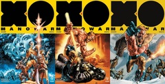 X-O Manowar (2017) Lot 1 2 3 Cover A Set