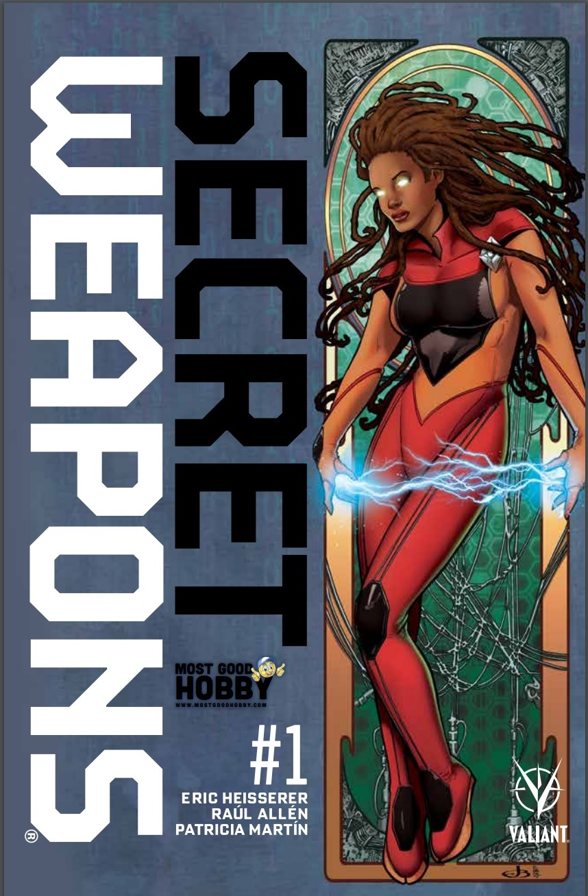 Secret Weapons #1 Most Good Exclusive Jen Broomall Variant
