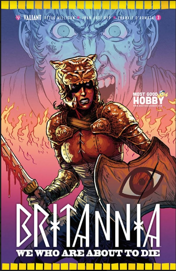 Britannia We Who #3 (Of 4) Most Good Exclusive Browne Variant