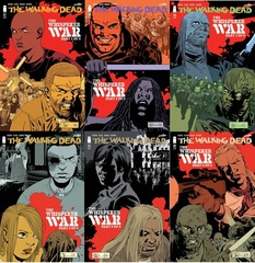 Walking Dead Lot 157 158 159 160 161 162 Whisperer War