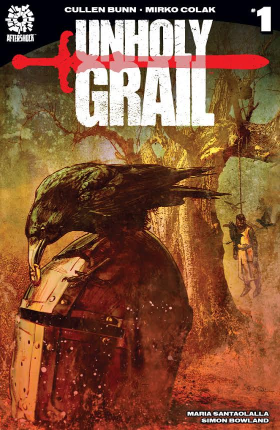 Unholy Grail #1 Most Good Exclusive Michael Gaydos Variant LTD 300