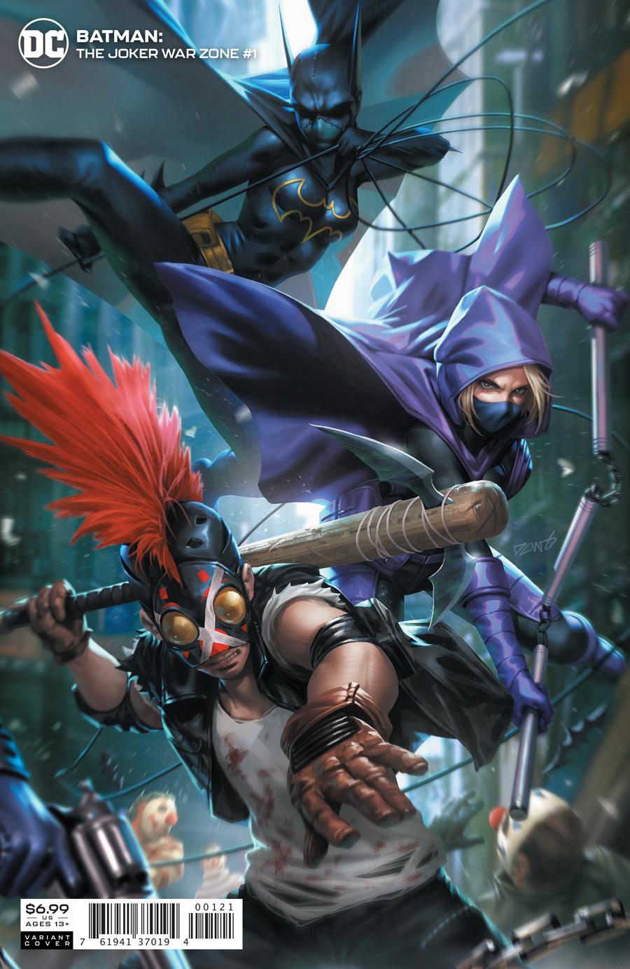 Batman Vol 3 Joker War Zone #1 Cover B Derrick Chew Variant