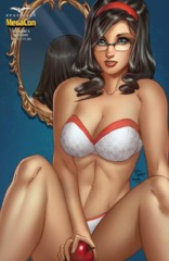 GFT Red Agent #5 (Of 5) Cover F Mike DeBalfo 2016 MegaCon Naughty Exclusive LTD 250