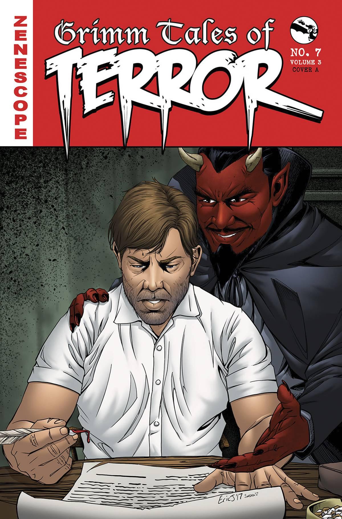 GFT Grimm Tales Of Terror Vol 3 #7 A Cover Eric J
