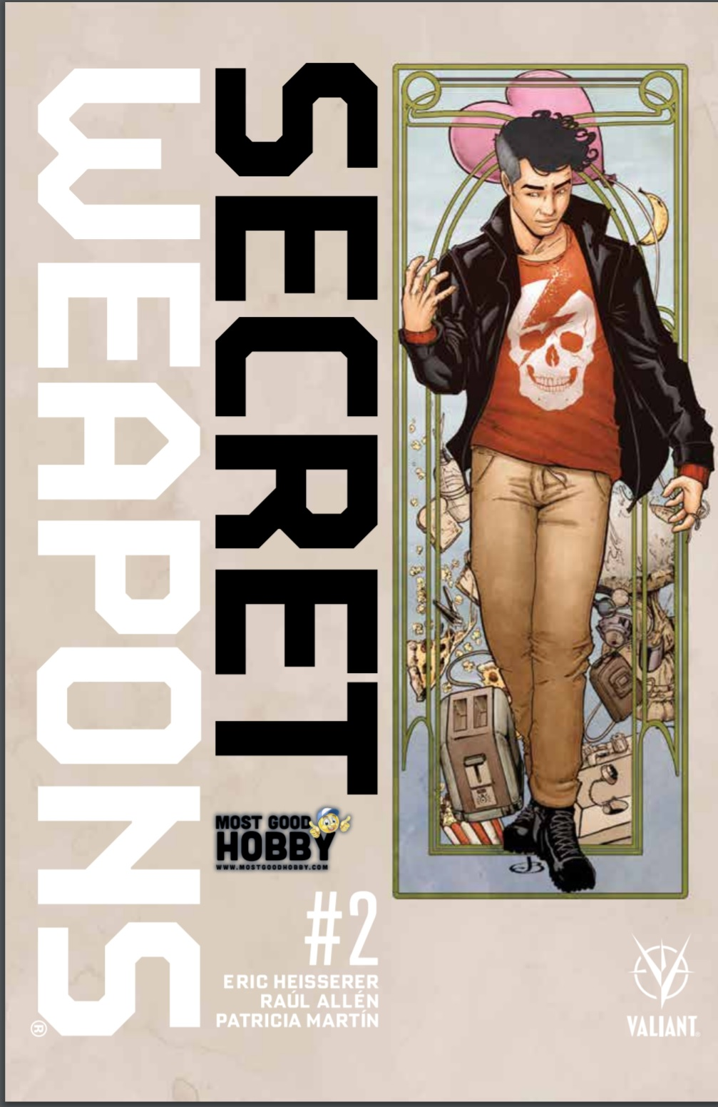 Secret Weapons #2 Most Good Exclusive Jen Broomall Variant