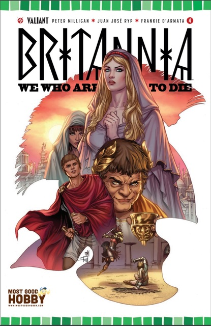 Britannia We Who #4 (Of 4) MGH Exclusive Mike Krome Variant