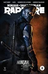 Rapture #3 Cover C Ninjak Vs Valiant Universe