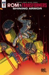 Rom Vs Transformers Shining Armor #1 1:10 Variant