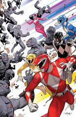 Go Go Power Rangers #1 1:50 Variant Mora Var